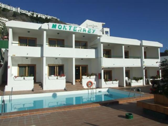 Monterrey apartments is a one bedroom one bathroom apartment in the Puerto Rico area of Gran Canaria